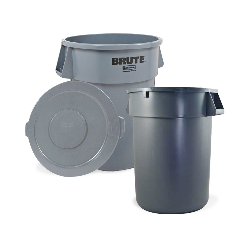 Trash Cans & Recycling Containers
